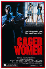 1982 Caged Women Vintage Action Film Movie Poster Print 24x16