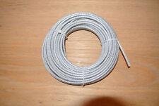 Câble acier  4 mm x 20 mètres avec gaine PVC