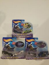 Hotwheels Lot Of 3 two Car Sets Batman Versus Series, catwoman, penguin, & croc
