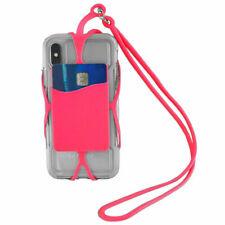 """Tour de cou rose universel smartphone/mobile Apple iPhone de 3,8"""" à 4,3"""" pouces"""