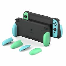 Animal Crossing Grip Protective Case With Replaceable Grips For Nintendo Switch