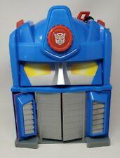 Transformers Rescue Bots Optimus Prime Fire Station Hasbro Playskool