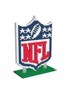 BRXLZ NFL Construction Toy Logo NFL Christmas Stocking Gift 3D Toy - New