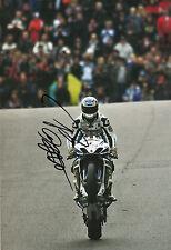 Tommy Hill Hand Signed Worx Crescent Suzuki 12x8 Photo BSB.