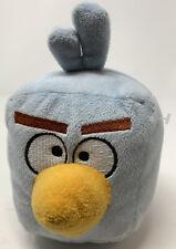 "Angry Birds Space Plush Ice Cube Blue Square Toy Stuffed Animal 5"" Rovio"