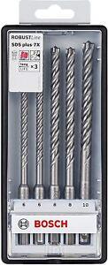 Bosch Hammerbohrer-Set 7x SDS-Plus 5tlg.