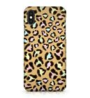 Colourful Leopard Animal Skin Print Wildlife Camouflage Exotic Phone Case Cover