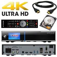Gigablue UHD Quad 4K FBC 2xDVB-S2 Tuner ULTRA HD E2 Receiver + 2TB Festplatte