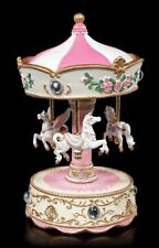 Spieluhr - Einhorn & Pegasus Karussell - Fantasy Spielkarussell Deko Musik