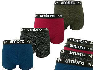 UMBRO MEN BOKSERKI 4-PACK COTTON MADE MULTICOLOR HIGH COMFORT AND LATEST STYLE