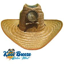 Mens Kool Breeze Solar Cowboy Hat d280dc795be2