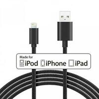iPHONE iPAD iPOD CERTIFIED MFI 6FT LONG USB CABLE FAST CHARGE POWER CORD WIRE