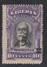 "Liberia # 181 MINT Italic ""9"" In 1920"