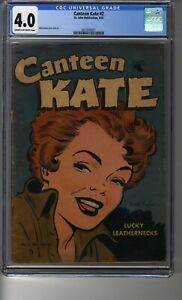 Canteen Kate # 2 - CGC 4.0 Cream/OW Pages - Matt Baker Cover