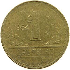 BRAZIL 1 CRUZEIRO 1954 #s54 111