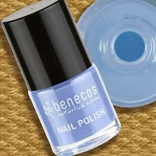 Benecos Nail Polish Blue Sky Nagellack vegan ohne Formaldehyd Toluol Phthalate 9