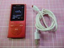 SONY WALKMAN NW-E394 Digital Media Player 8GB Red.