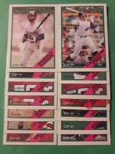 1988 O PEE CHEE CHICAGO WHITE SOX MASTER TEAM SET FISK BAINES NM/MT 01949