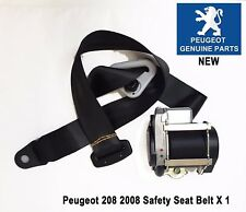 Peugeot 208 Safety Seat Belt Front Left Pretensioner Buckle New 98063150XX