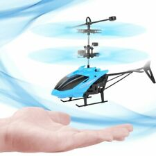 Mini RC Drone Helicopter Infraed Induction 2 Channel Electronic Funny Suspension