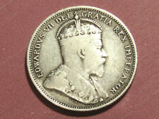 1907 Canada 25 cents