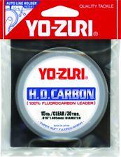 New! Yo-Zuri H.D. Carbon Fluorocarbon Leader 15Lb 30Yd Clear Hd15Lbcl