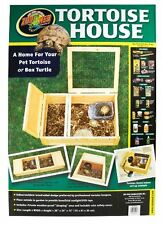 Zoo Med Wood Tortoise House New Fast Shipping