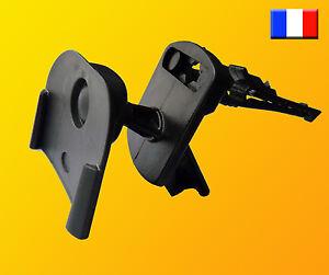 Support Tomtom One V2 V3 voiture grille ventilation aeration édition 2 et 3 360°