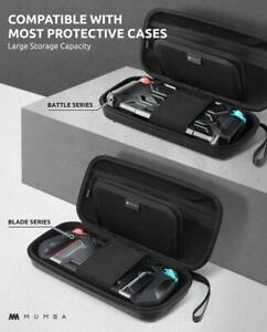 For Nintendo Switch Mumba [Large Capacity] Carrying Case Protective Travel Pouch