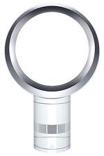 NEW Dyson AM06 Desk Fan: 301201-01 White/Silver