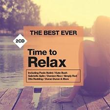 The Best Ever: Time To Relax - Various Artists (NEW 2CD)