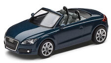 Audi TT 8J Roadster Modèle de voiture 1:87 Bleu pétrole bleu