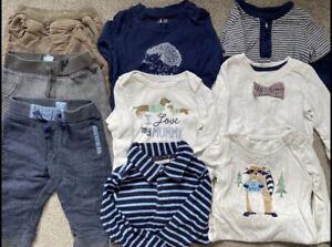 Baby Gap Jojo Maman Bebe Boys Clothes Bundle 6-12 Months