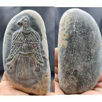 Roman old rare carving stone relief Eagle stone # 150