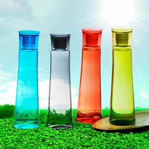 Plastik Kühlschrank Wasserflasche Set 4 Teile, 1 I, Mehrfarbig