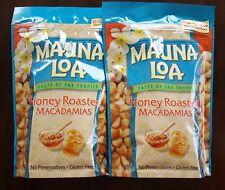 Mauna Loa Honey Roasted Macadamia Nuts - 2 Bags (10 oz per bag)
