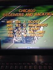 1979 Chicago Bears at Dallas Cowboys dvd