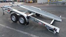 Pkw- Anhänger, Autotransporter Brenderup U 120, 3000 kg, 2 Gang Seilwinde 1450kg