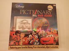 DISNEY a Pictionary DVD GAME-USATO IN BUONE CONDIZIONI-COMPLETO