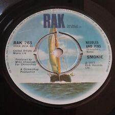 "Smokie - Needles And Pins  7"" Vinyl Record 45RPM 1970s Music"