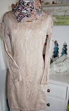 Cream DK Tunika Kleid Lace Peach Blush Langarm size: 36 Neu