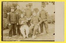 cpa France Carte Photo vers 1900 MILITAIRES SOLDATS du 24 ème Régiment