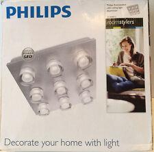 Philips Roomstylers Darius LED Ceiling light Aluminium