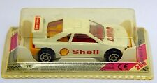 Majorette 202 Peugeot 405 T16 Turbo 1:64 Shell Le Moutard Made in France