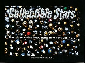 """""""Collectible Stars"""", the book on Montblanc writing instruments from 1946-79"""