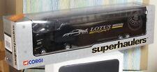 CORGI VOLVO RACE TRANSPORTER superhauler BLACK LOTUS SPORT 59547 minvgb
