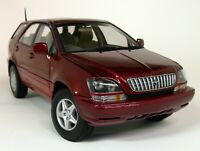Autoart 1/18 Scale 70035 Toyota Harrier Met Red (Lexus RX) diecast Model Car