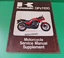 KAWASAKI zx gpz 1100 gpz1100 manuale officina supplement owner's service manual
