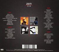 David Bowie  Zeit! 77-79 ( 5 CD'S).3 X SINGLE CD'S & STAGE DBL CD IN STURDY BOX