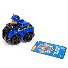 Paw Patrol Racers, Chase's Spy Vehicle Color Blue children Toy